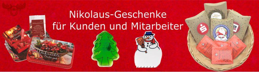 Nikolaus-Geschenke für Kunden und Mitarbeiter