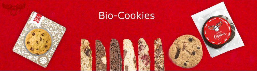 Bio-Cookies mit Schokolade