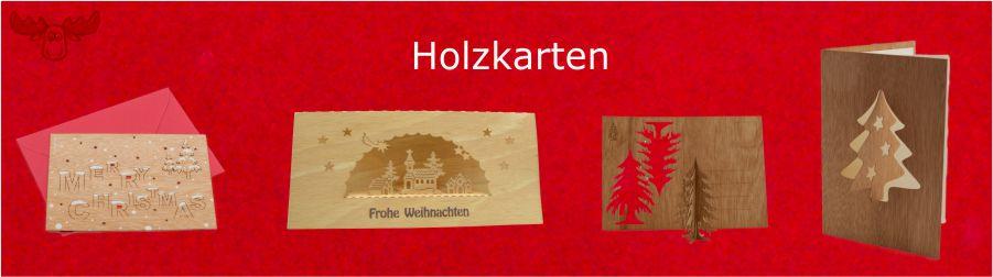 Holz-Karten