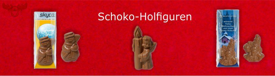 Schoko-Holfiguren